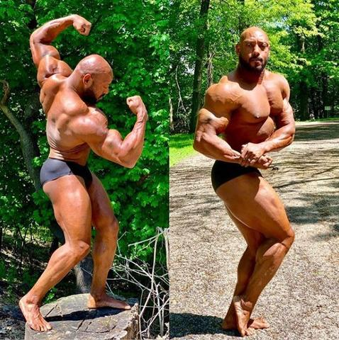 Beast Arms & Abs - IFBB Pro Hallart D. Keaton
